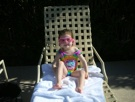 Sienna Falls Into Pool On Vacation, Age 2 – January 2011