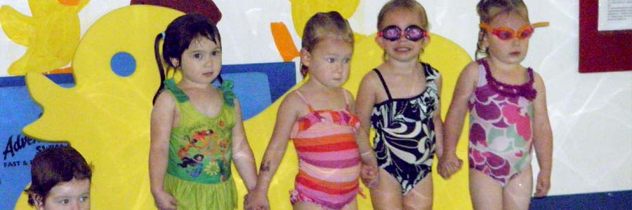swim class friends